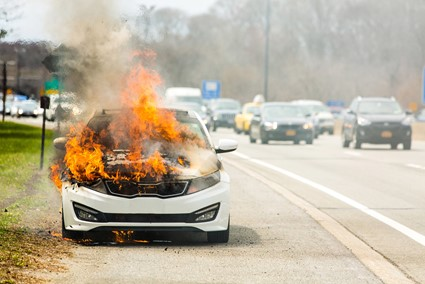 What To Do If A Car Suddenly Fire